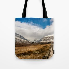 Mountain Highway Snowdonia Tote Bag