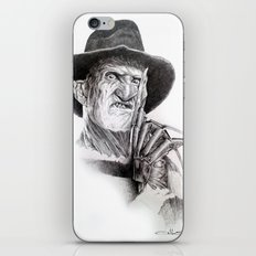 Freddy krueger nightmare on elm street iPhone & iPod Skin