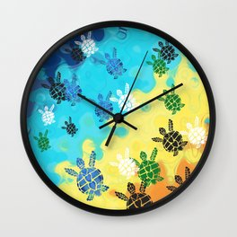 Back to the Ocean Wall Clock