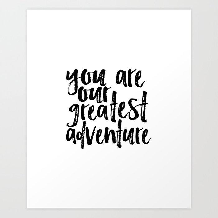 You Are Our Greatest Adventure Print Nursery Art Printable Baby Boy Custom