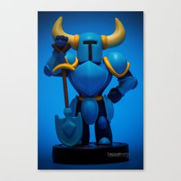 """Shovel Knight"" Canvas Print"
