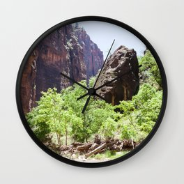 Grounded (Zion National Park, Utah) Wall Clock