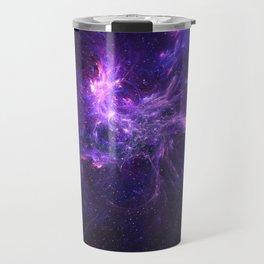 Coral Nebula Travel Mug