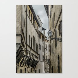 Houses at Historic Center of Florence, Italy Canvas Print