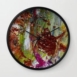 Goldrush Wall Clock