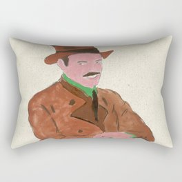 Oktoberfest German Gent Rectangular Pillow