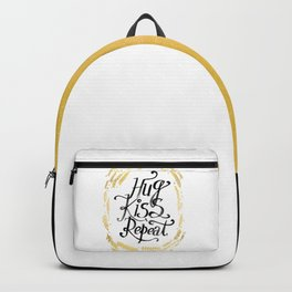 Hug Kiss Repeat Backpack