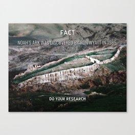 [Fact] Noah's Ark Canvas Print