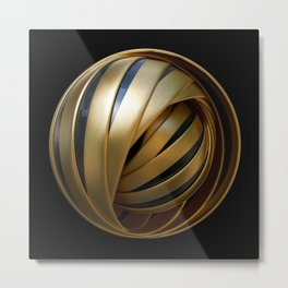 Pharaohs Sphere Metal Print