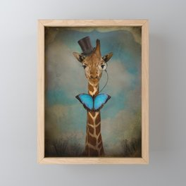 Sir Alfred Framed Mini Art Print