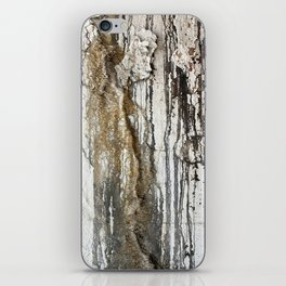 White Decay II iPhone Skin