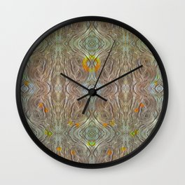 Olive Groove  Wall Clock