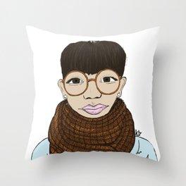 Yokoo Gibraan Throw Pillow