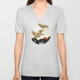 Elegant Flight II Unisex V-Neck