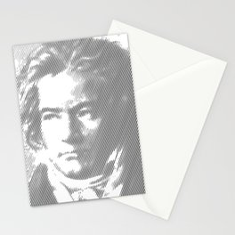 Beethoven Portrait Stationery Cards