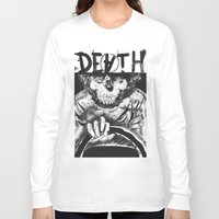 death Long Sleeve T-shirts featuring DEATH  by TARTWURK