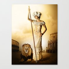 King & Queen Canvas Print