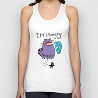 my mad fat diary Tank Tops featuring Fat Cat by Andi Bird