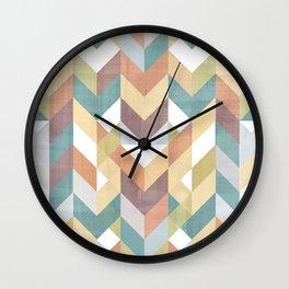 Shevron 2 Wall Clock