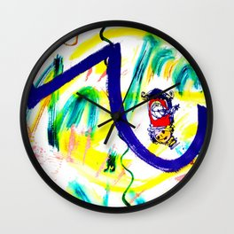 Time to get Started!         by Kay Lipton Wall Clock
