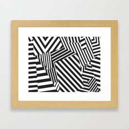 Protective pattern Framed Art Print