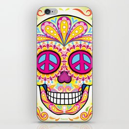 Sugar Skull (Bienestar) iPhone Skin