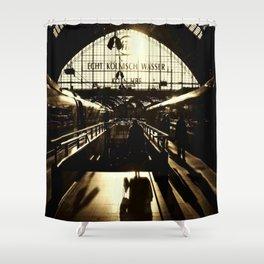 Railway Station Cologne (monochrom) Shower Curtain