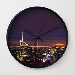 NYC from Rockefeller Wall Clock