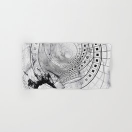 Split, Blasted, and Shattered Glass Film Strips Hand & Bath Towel