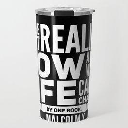 Malcolm X One Book Travel Mug