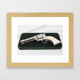 Guns Of The Old West - Colt .45, #5-Weitzel Framed Art Print