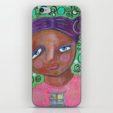 Let the Moonlight In iPhone & iPod Skin