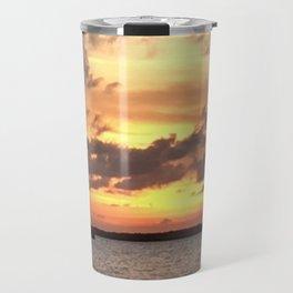 Key West sailing into Sunset Travel Mug