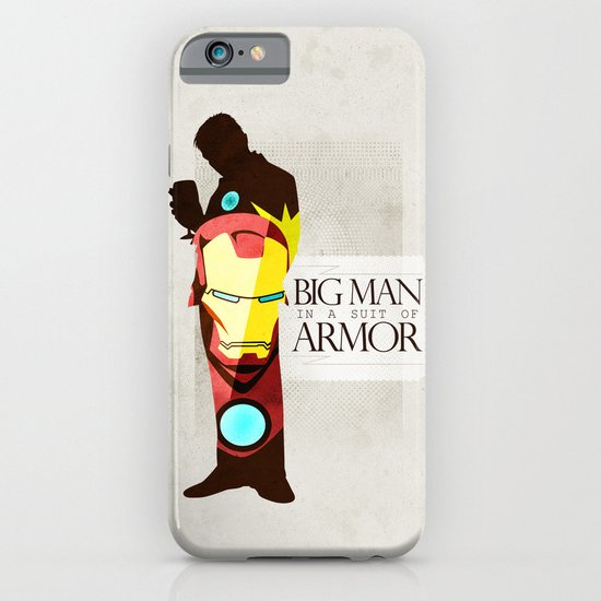 Suit of Armor : Iron Man iPhone & iPod Case