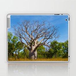Beautiful Blue Boab Laptop & iPad Skin