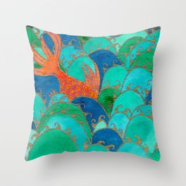 Mulgogi Throw Pillow