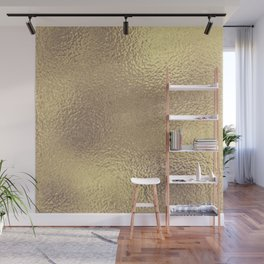 Simply Metallic in Antique Gold Wall Mural