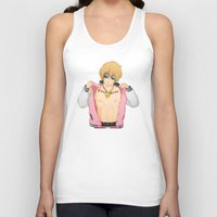 iwatobi Tank Tops featuring Thug Seme by Kallian