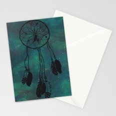 Dreamcatcher (teal) Stationery Cards