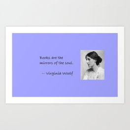 The Meaning of Books Art Print