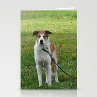 courage Stationery Cards featuring Courage by Kaleena Kollmeier