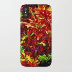 Coleus iPhone X Slim Case