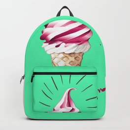 Yummy Ice Cream | Digital Art Backpack