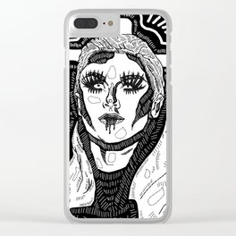 Farrah Moan Clear iPhone Case