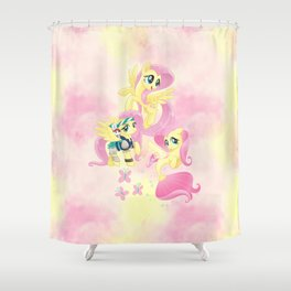 g4 my little pony Fluttershy Shower Curtain