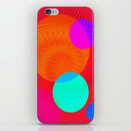 Re-Created Twisters No. 4 by Robert S. Lee iPhone Skin