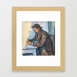 Paul Cezanne - The Cardplayer Framed Art Print