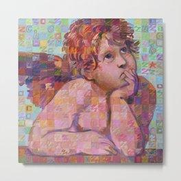 Sistine Cherub No. 1 Metal Print
