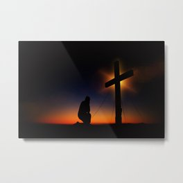 Christian Faith Metal Print