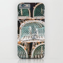 Readying for the lobster season iPhone Case